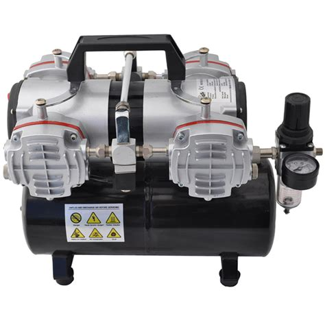 master airbrush tc 848 high performance 4 cylinder piston air compressor w tank ebay