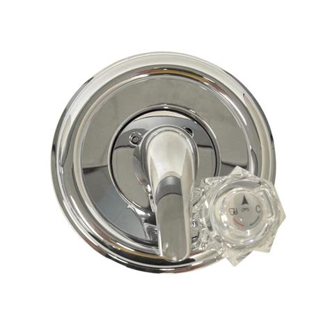bathtub trim kits shop danco chrome tub shower trim kit at lowes com