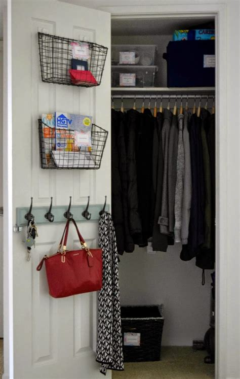 Foyer Closet Organizer by 17 Best Ideas About Entryway Closet On Closet