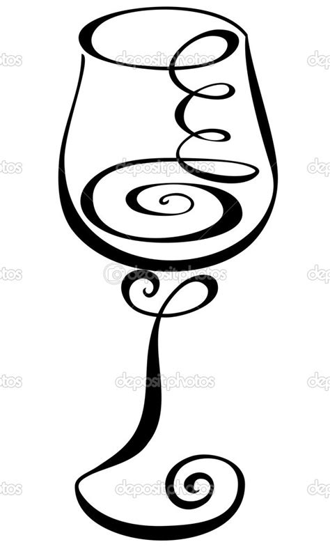 black and white chagne bottle clipart wine glass black white clipart clipart kid