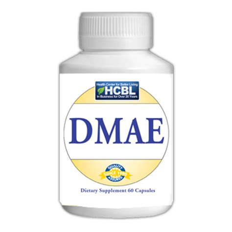 Dmae Also Search For Dmae Dimethylaminoethanol Capsules Smart Cart