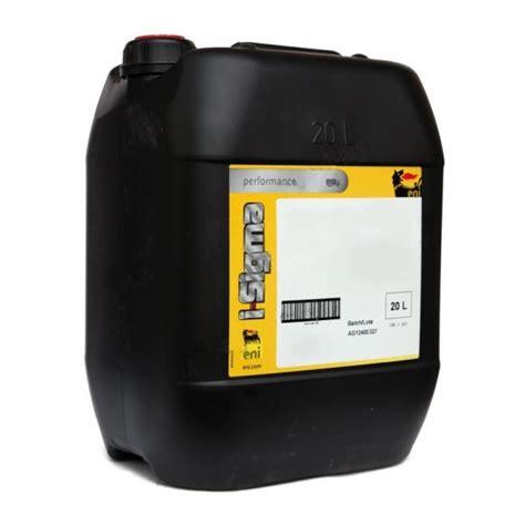 Oli Agip Sigma eni sigma performance e 7 15 40 20 litri petrol motor