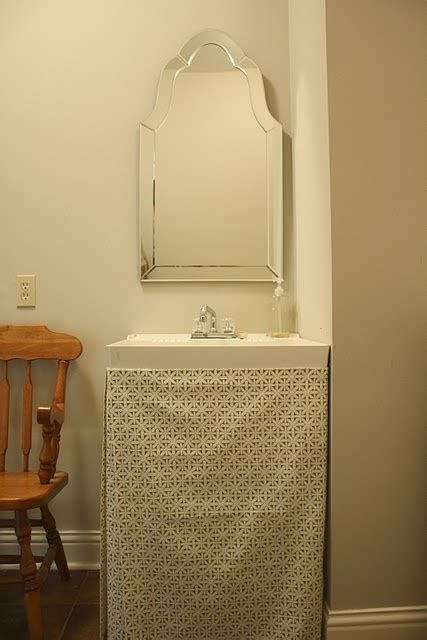 Basement Utility Sink Skirt D Best 25 Bathroom Sink Skirt Ideas On Sink