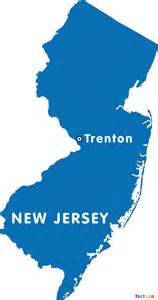 capital of new jersey map