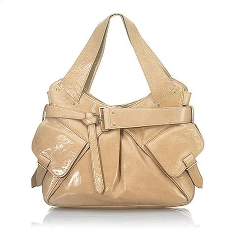 Kooba Jacinda Buckle Front Shoulder Satchel by Kooba Jacinda Shoulder Handbag