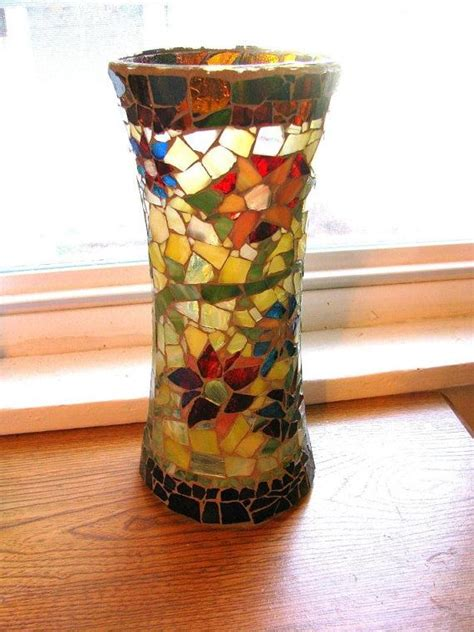 35 best images about mosaic vases on glass
