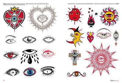 tattoo old school occhio eyes