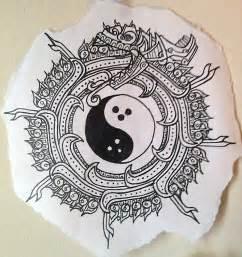 yin yang mayan ouroboros by choxbblgum on deviantart