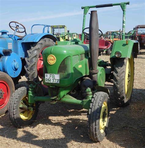 Traktor Oldtimer Lackieren by Lanz Bereits In Deere Lackierung Bei Der