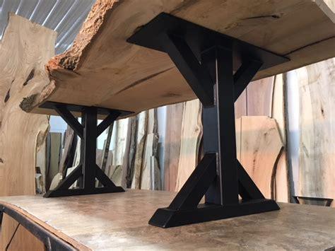 black metal leg dining table ohiowoodlands dining table base steel dining table legs