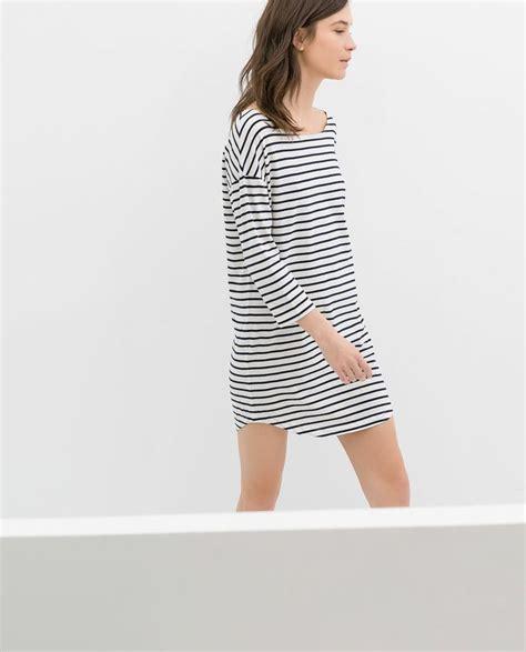 Zara Striped Dress organic cotton striped dress from zara fashion things i like zara organic