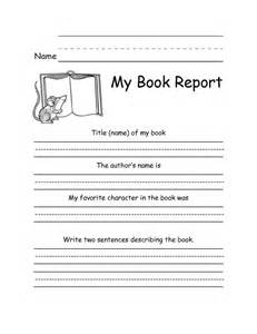 Simple Book Reports For Grade simple book report form library centers activities book reports and write a book