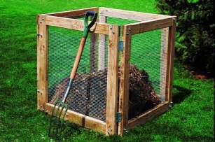 diy compost bin backyard projects birds and blooms