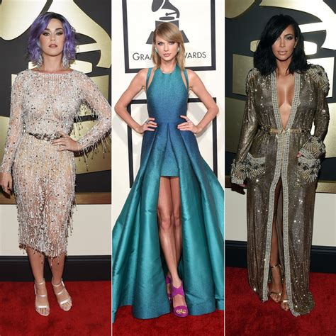 grammys 2015 grammy awards red carpet fashion and pictures grammys 2015 red carpet dresses popsugar fashion