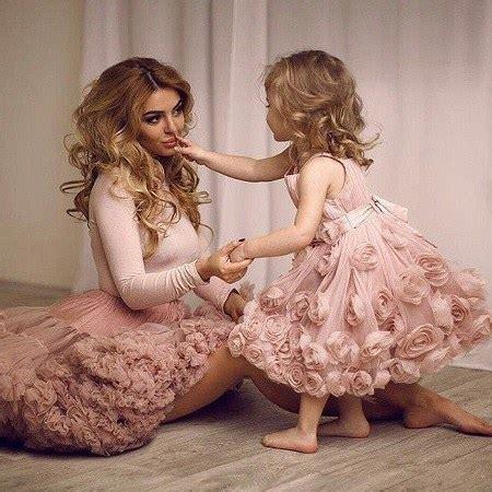 Baju Ballet Dan Pesta Anak 19 baju kembar ibu dan anak ide model busana