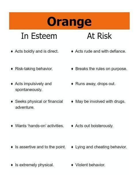 true colors orange best 25 true colors personality ideas on true