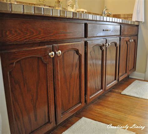 how to refinish stained wood kitchen cabinets featured projects from the sunday showcase party