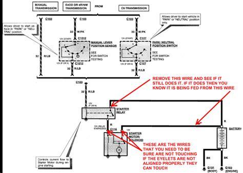 installed  starter  solenoid   starter relay