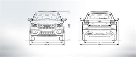Audi 100 2 8 Technische Daten by Audi Q2 Abmessungen Seitenansicht Quattro Audi 214 Sterreich