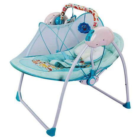 automatic swing baby cradle platinum increased electric multifunction baby rocking
