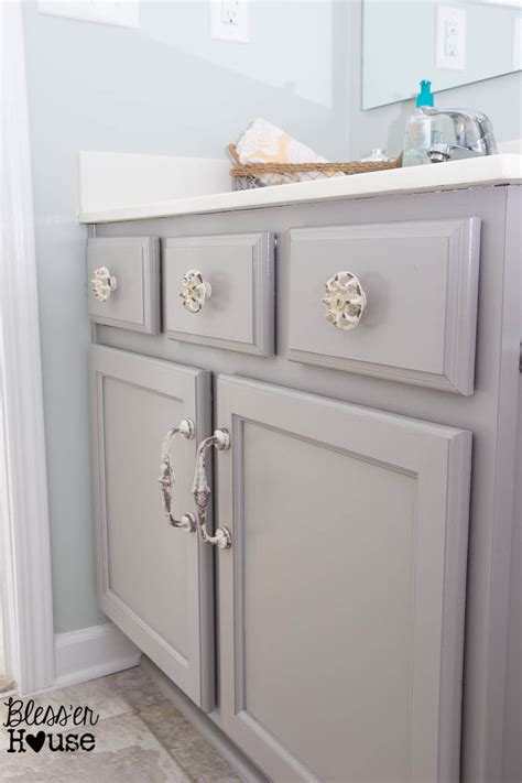 painted bathroom cabinets ideas the beginner s guide to painting cabinets