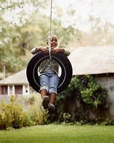 a tire swing hanging from a branch 17 best images about sensory items and activities on