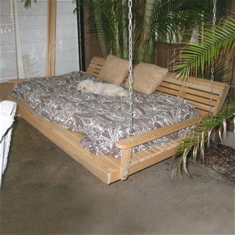 porch futon old futon into porch swing bed swing beds pinterest