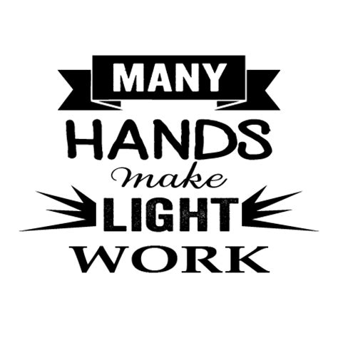 hands light work wall quotes decal wallquotescom