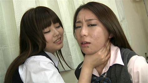 Lesbian strangling video