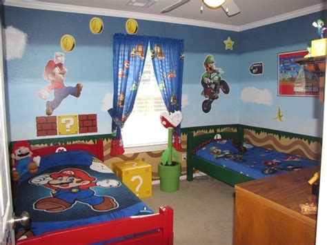 Inspiration mario themed room for your kids evercoolhomes