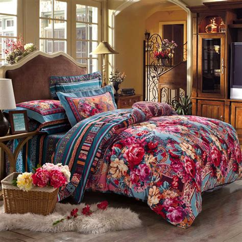 luxury comforter set blooming design luxury comforter set ebeddingsets