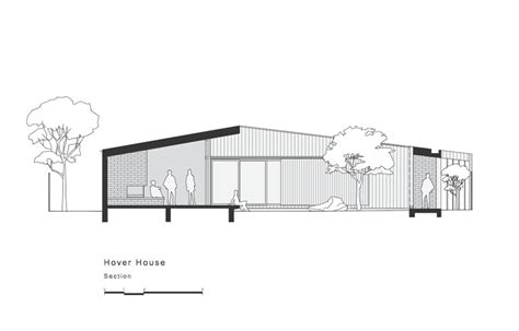 section court hover house drops in on a disused backyard tennis court in mt martha