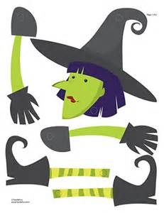Halloween Paper Decorations Printable It S All About Crafts Printable Witch Craft