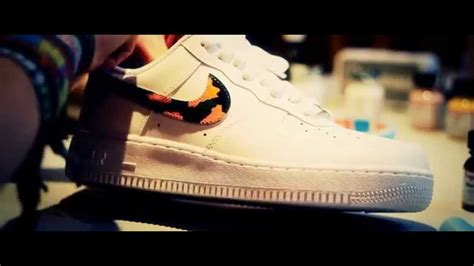angelus paint air willyb custom air 1 af1 camo angelus