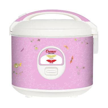 Daftar Rice Cooker Cosmos jual cosmos crj 3301 non stick rice cooker 1 8l