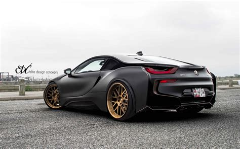 matte bmw matte black bmw i8 by edc bmw car tuning
