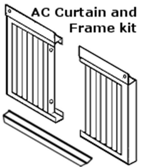window air conditioner frame kit a c and heating forum