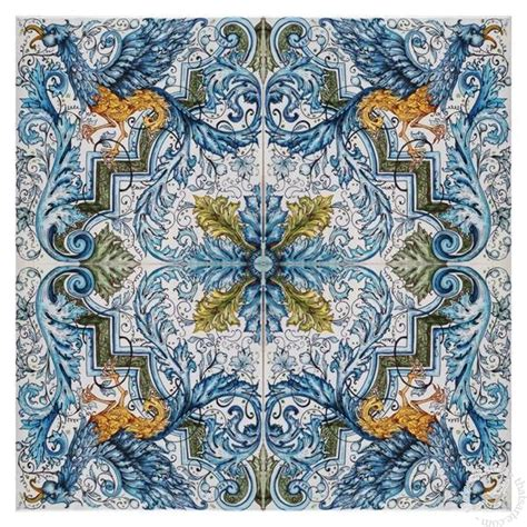 italian ceramics tile mural floor panel table top