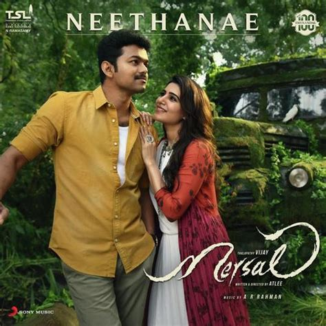 album songs mp3 download in tamil neethanae from quot mersal quot a r rahman shreya ghoshal