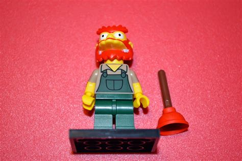 Lego Simpsons S2 Minifigures No 13 Groundskeeper Willie random encounters with the for lego