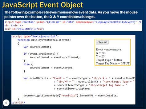 tutorial javascript object sql server net and c video tutorial javascript event