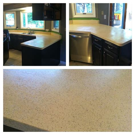 rustoleum countertop transformations color is pebbled ivory looks great project