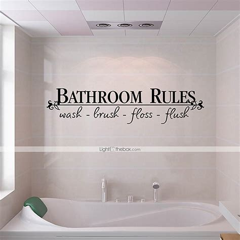 wall stickers for the bathroom wall stickers wall decals style bathroom