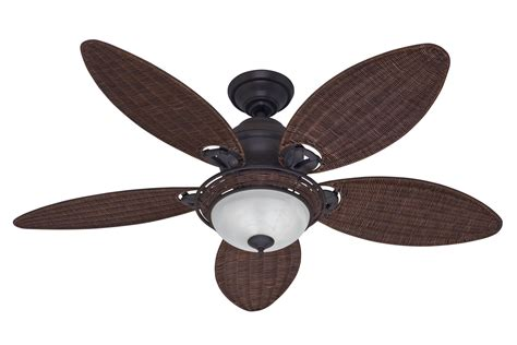wicker ceiling fans with lights hunter caribbean breeze ceiling fan hu 54095 in weathered