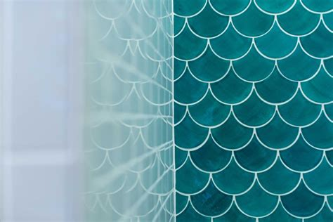 fish scale tile moroccan fish scale tile bathroom trends construction2style