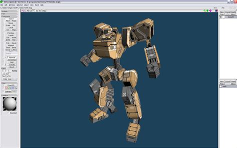Papercraft Software - meka papercraft from metasequoia paperbotz
