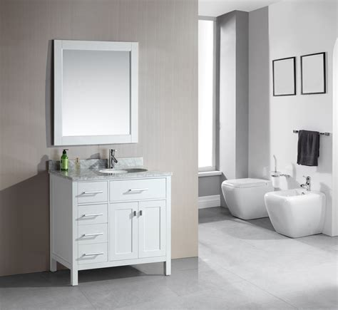 bathroom vanity design adorna 36 quot single bathroom vanity white finish