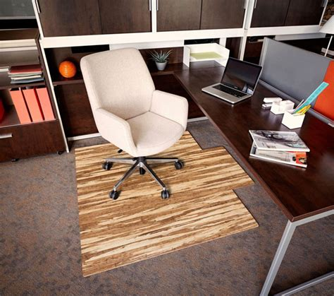 Bamboo Desk Chair Floor Mat by Stranded Bamboo Chair Mats Are Bamboo Desk Chair Mats By