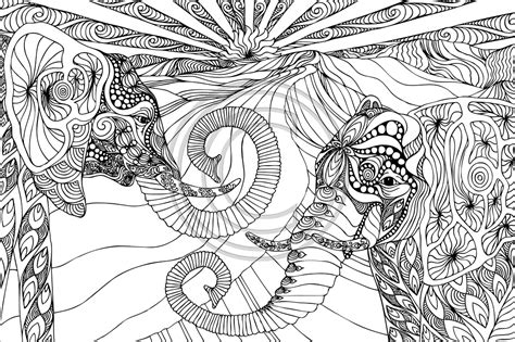 mandala coloring books for adults elephant mandala coloring pages collection free coloring