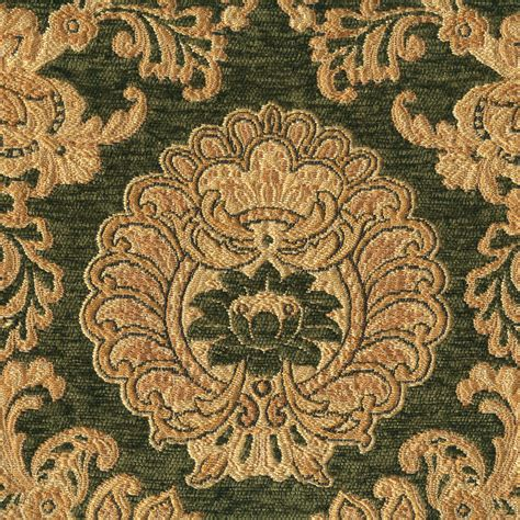 green damask upholstery fabric quot arlington gourmet quot emerald green gold damask upholstery